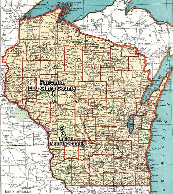map of wisconsin for kids bnhspinecom